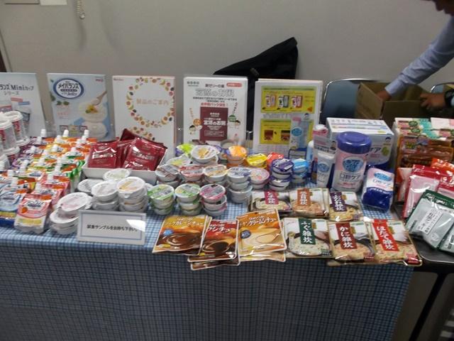 写真2 介護食品ブース