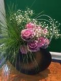 南館のお花 1月