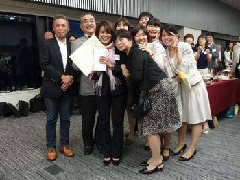 金賞受賞の5東 看護師 渡辺礼子さん