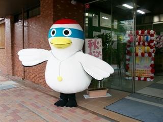 鶴のまきちゃん @コスモス祭